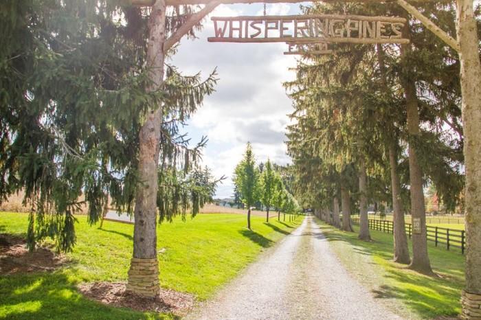 Whispering Pines Gate