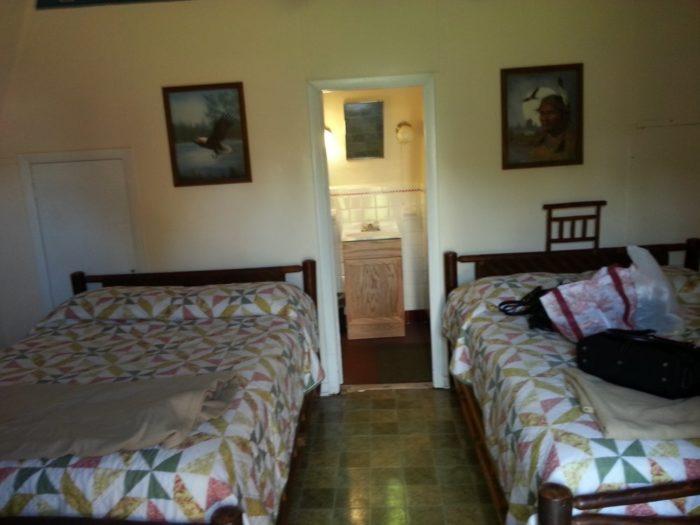 Wigwam room. Kay J