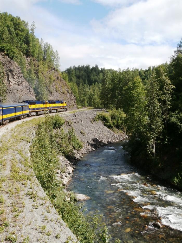 6. Alaska's National Parks By Rail