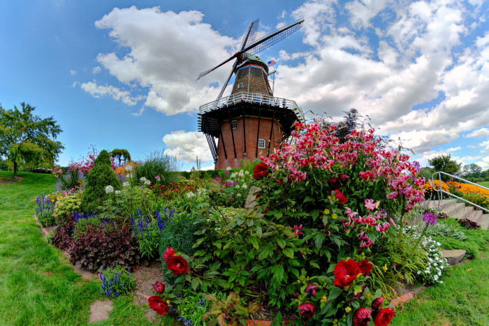...Home of the picturesque Windmill Island Gardens.