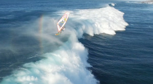 You've Never Seen Anything Like This Jaw-Dropping Footage Of Windsurfing In Hawaii