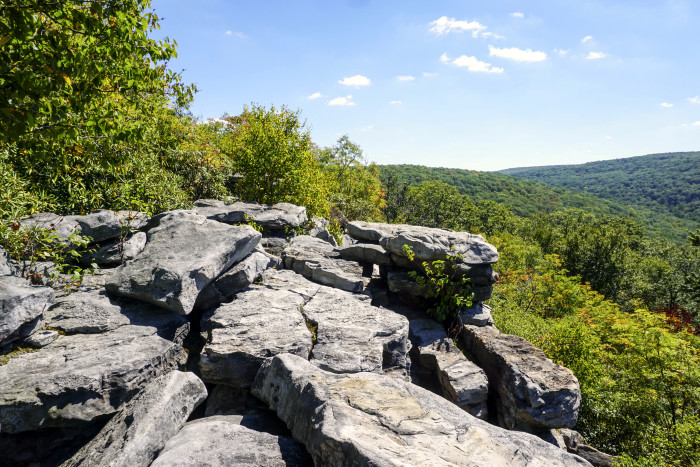20. Wolf Rocks Loop Trail, Forbes State Park