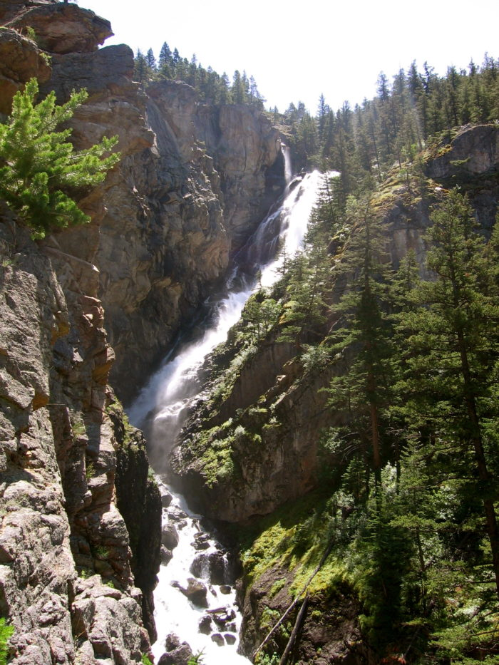 2. Woodbine Falls, Beartooth Mountains