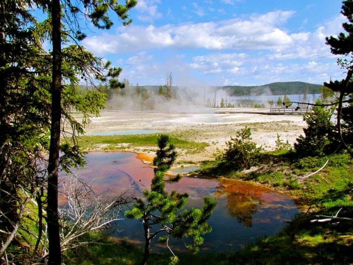 1.  A potential Yellowstone eruption.