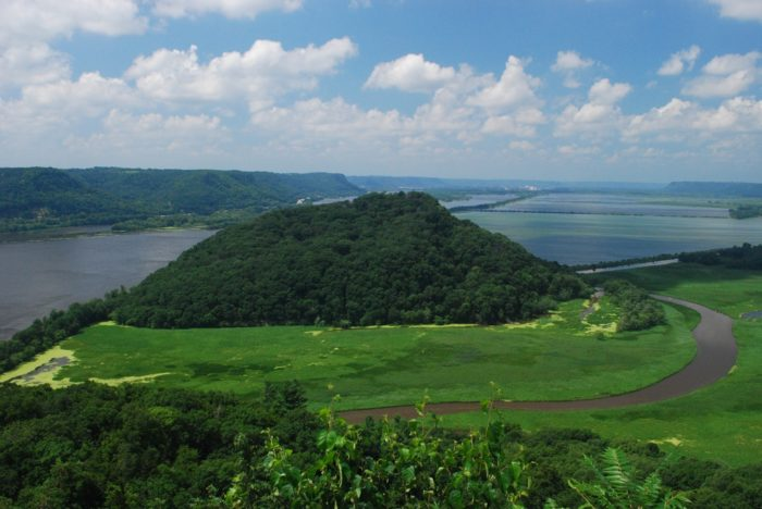 3. Native American mounds, burial sites, and habitation sites are all over this mountain.