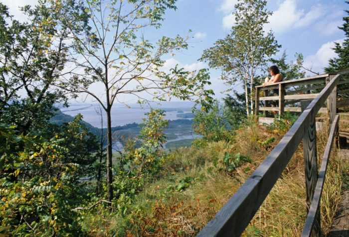 4. Certainly, you will want to hike through Perrot State Park.