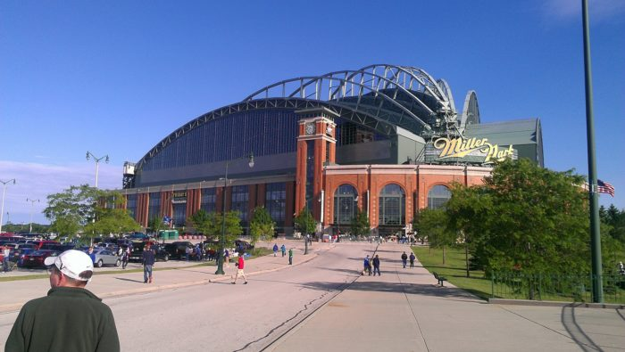 12. Then, take in the Brewers at Miller Park.