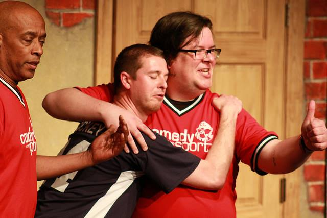 6. Have some laughs at ComedySportz.