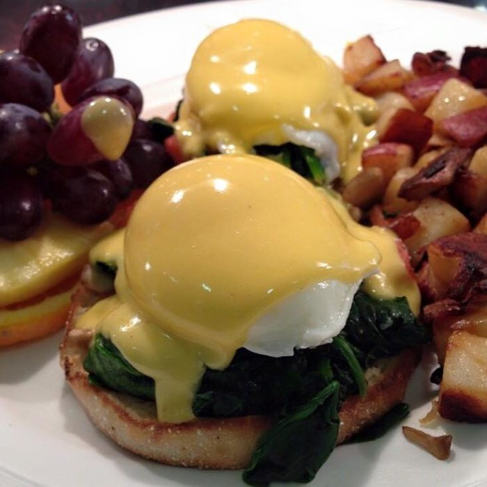 7. Wake up the next day at eat at Yolk for breakfast.