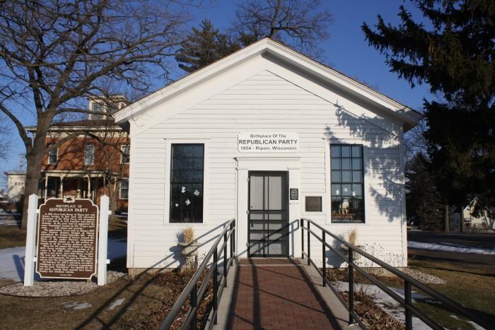 1. Little White Schoolhouse