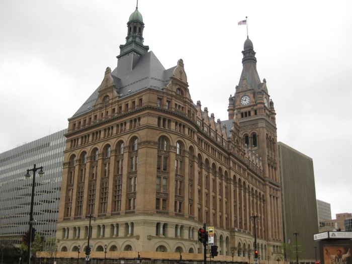 10. Milwaukee City Hall