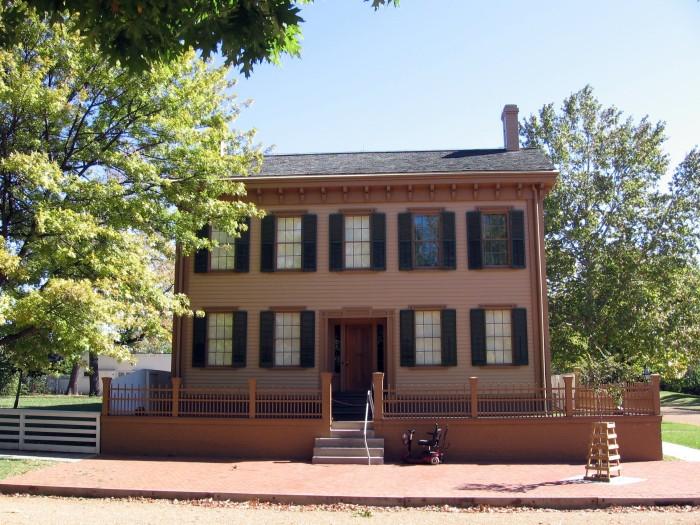 11. Abraham Lincoln Home