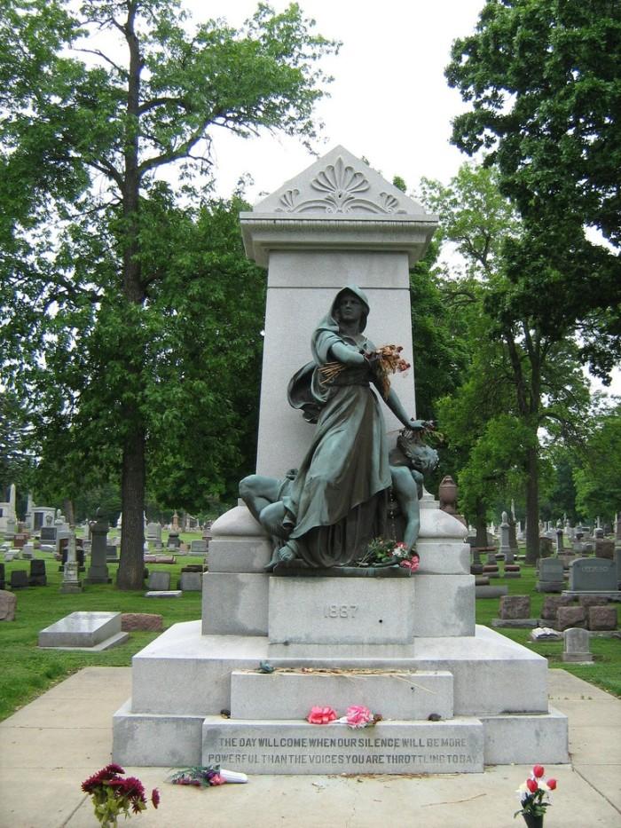 12. Haymarket Martyr's Memorial