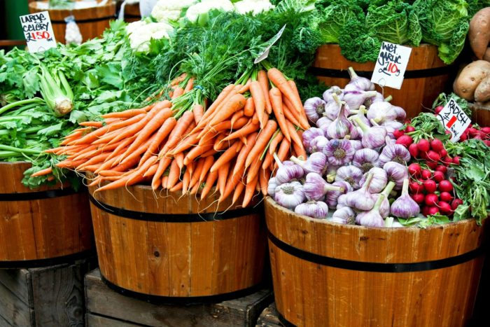 6. The farmers market is nothing short of amazing.