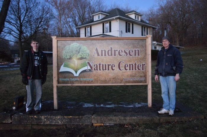 7. The Andresen Nature Center encourages appreciation for the nature around us.