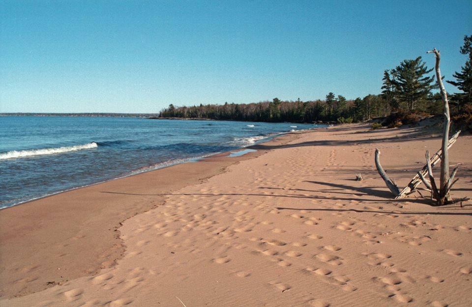 Sand Beach Washington Island Wi