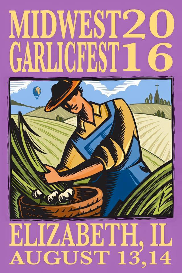 5. Midwest Garlic Fest