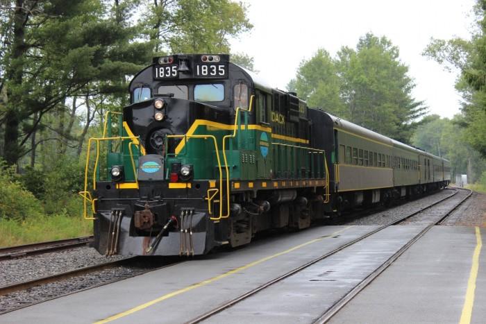 3. Adirondack Scenic Railroad