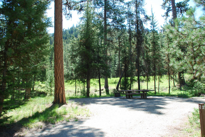 1. Alta Campground, Little Cottonwood Canyon