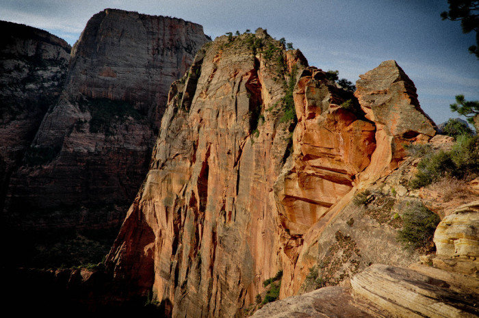 12. Angel's Landing got its name from a man named Frederick Fisher, in 1916.
