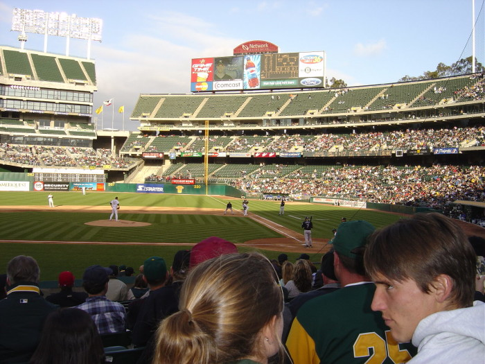 4. Angels in the Outfield - Oakland
