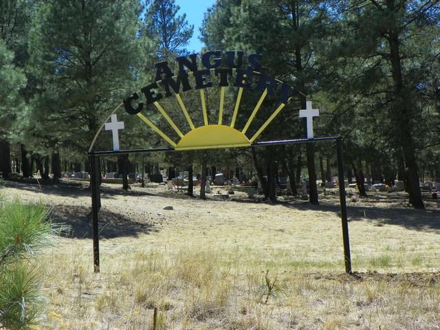 4. Angus Cemetery, Alto