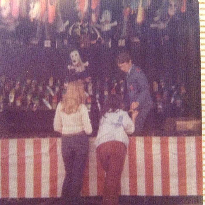 11. Winning prizes at the Bangor Maine State Fair, 1976.