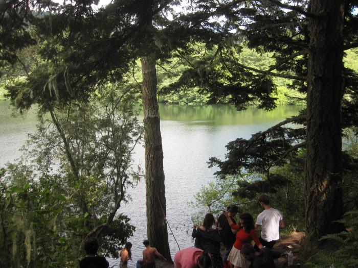 1. Bass Lake, Point Reyes