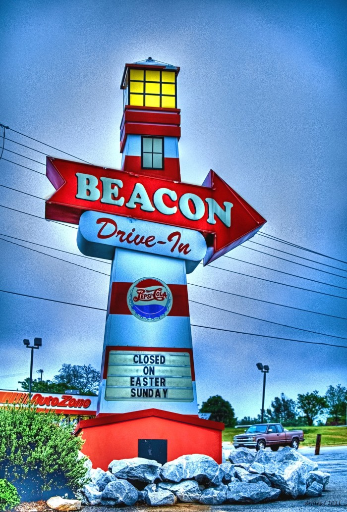 4. The Beacon Drive In over in Spartanburg, SC.