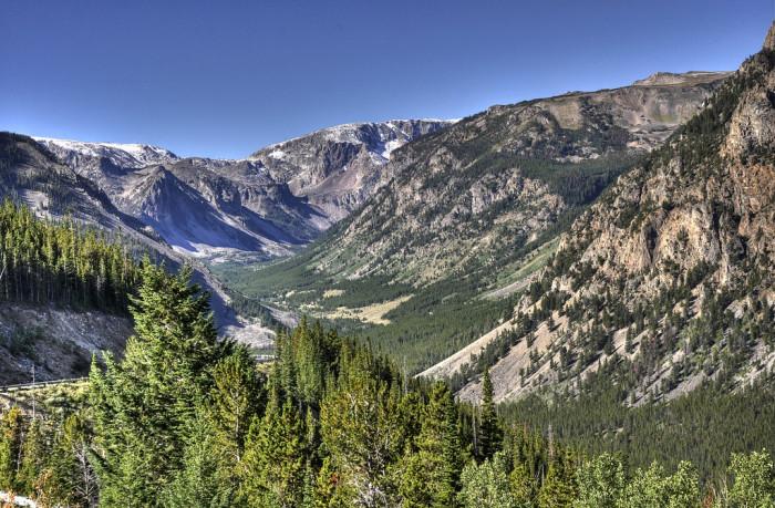 6. The Beartooth Mountains
