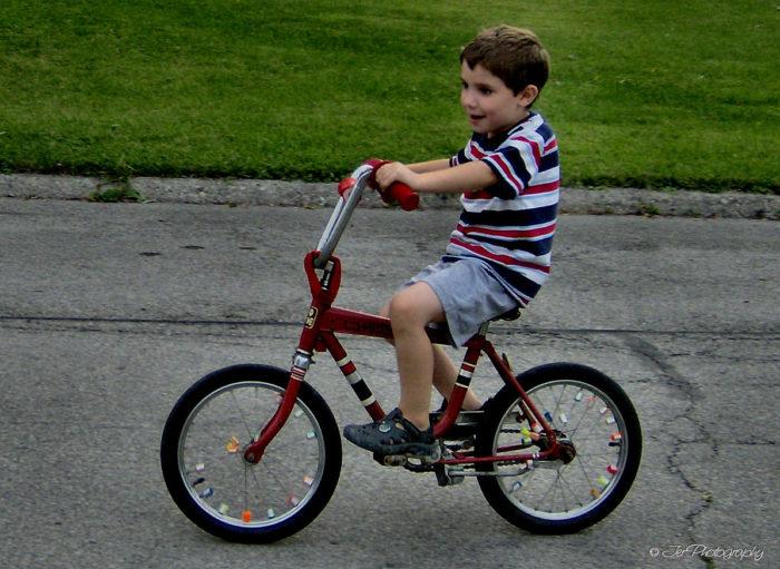 5. Riding Bikes