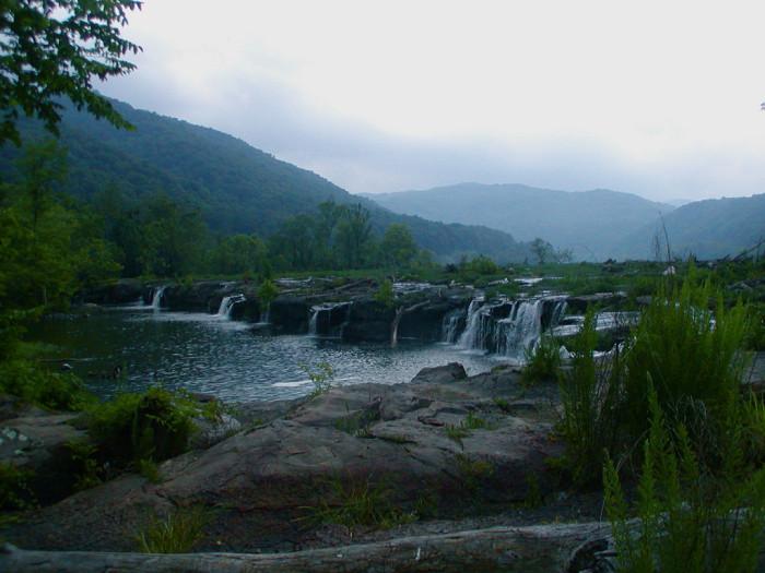 3. Waterfall on Bluestone River