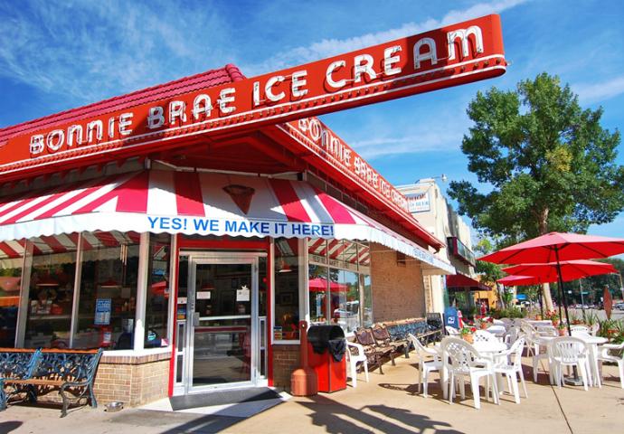 2. Bonnie Brae Ice Cream