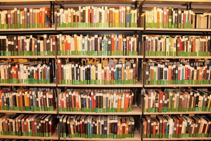 5. The library has 50,000 art reference materials.