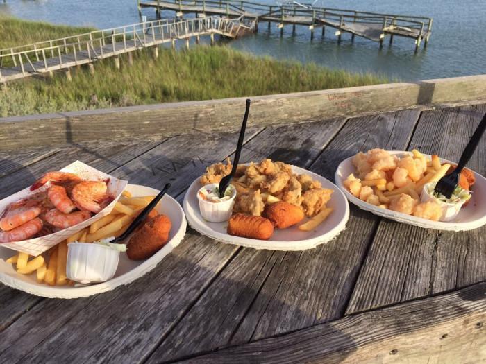 Bowens Island Restaurant South Carolina