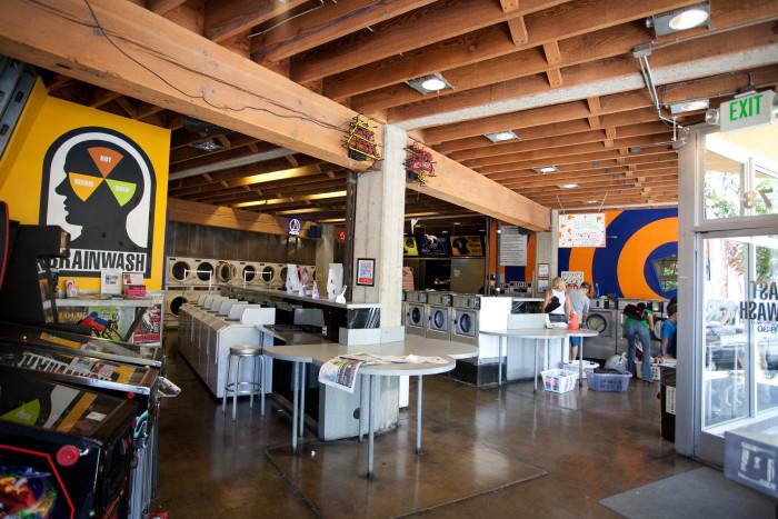 9. Brainwash Cafe & Laundry, San Francisco