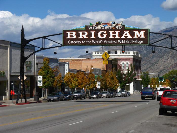 1. Brigham City: A refuge for the birds.