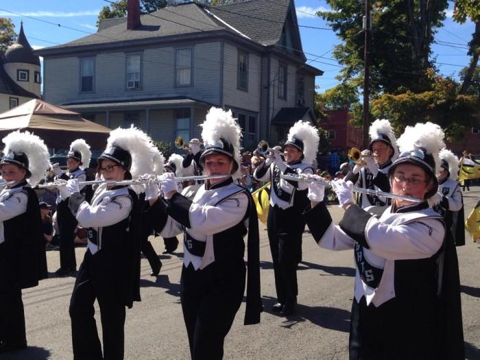 buckwheat festival parade
