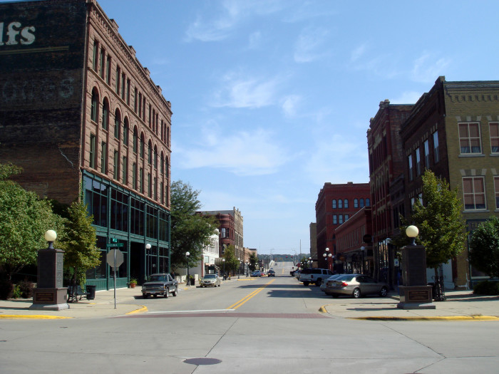 Sioux+City+Iowa Historic Fourth Street District, Sioux City