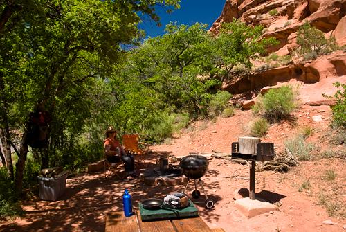 utah camping spots
