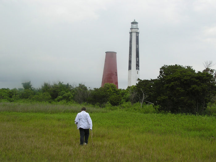 2. Cape Romain's 1857 Lighthouse - Located southeast of McClellanville.  Coordinates: 33°01′08″N 79°22′25″W