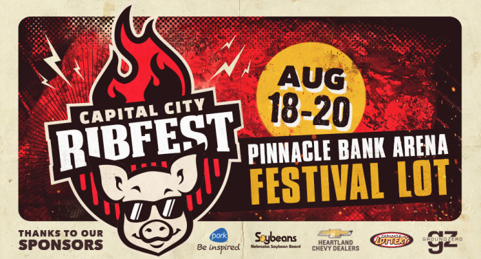 3. Capital City Ribfest, Lincoln