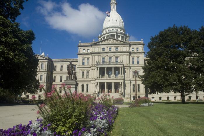 7. Michigan State Capitol, Lansing