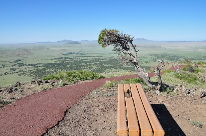 8. Crater Rim Trail, Capulin Volcano National Monument, 1 mile