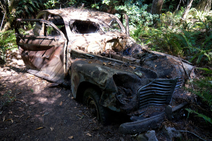11. What tragic story does this automobile hold?