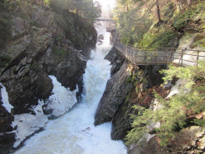 9. High Falls Gorge, Wilmington