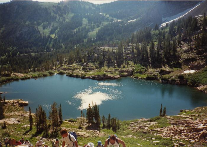 2. Cecret Lake, Little Cottonwood Canyon