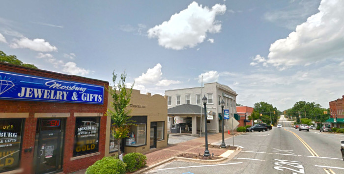 5. Chesnee, SC - the town lovingly named after someone's Grandmother.