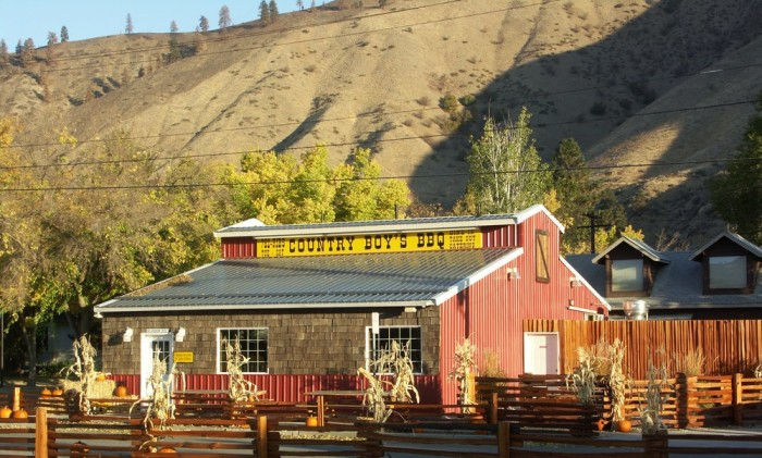 6. Country Boy's BBQ, Cashmere
