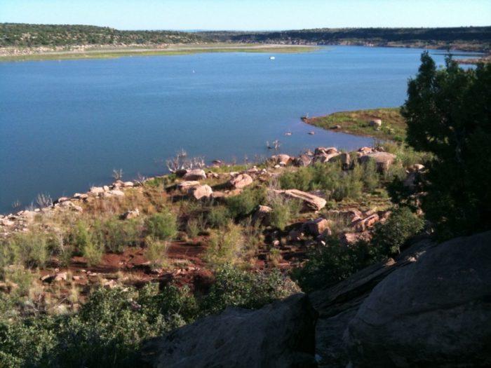 9. Conchas Lake, near Tucumcari